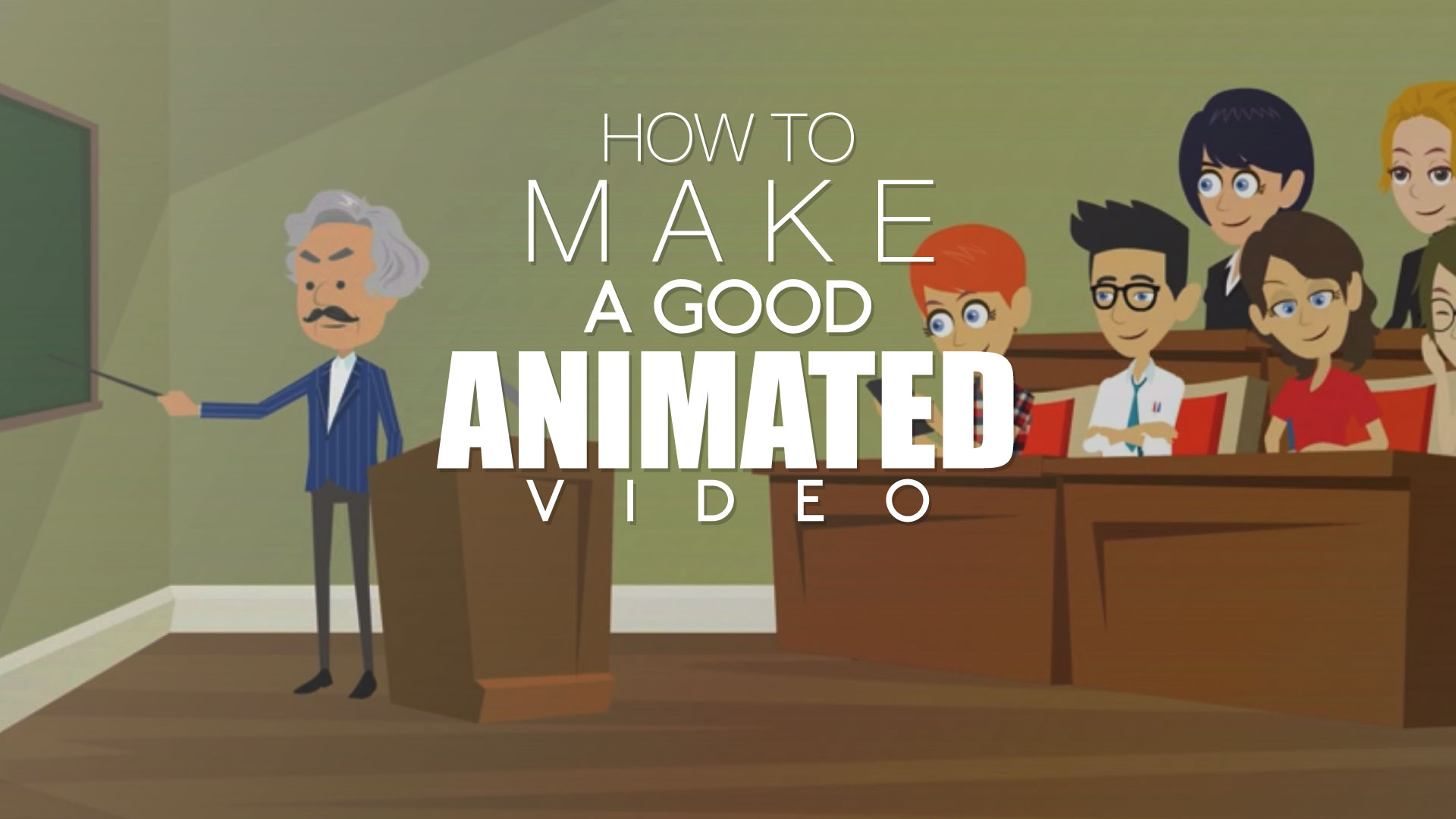 How To Make A Good Animated Video Video At Click
