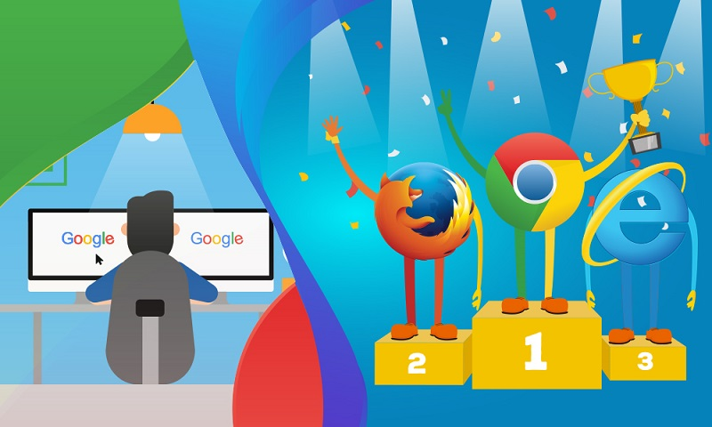 Go chrome, Google chrome is the best browser to browse video content beating Firefox and legend Internet Explorer
